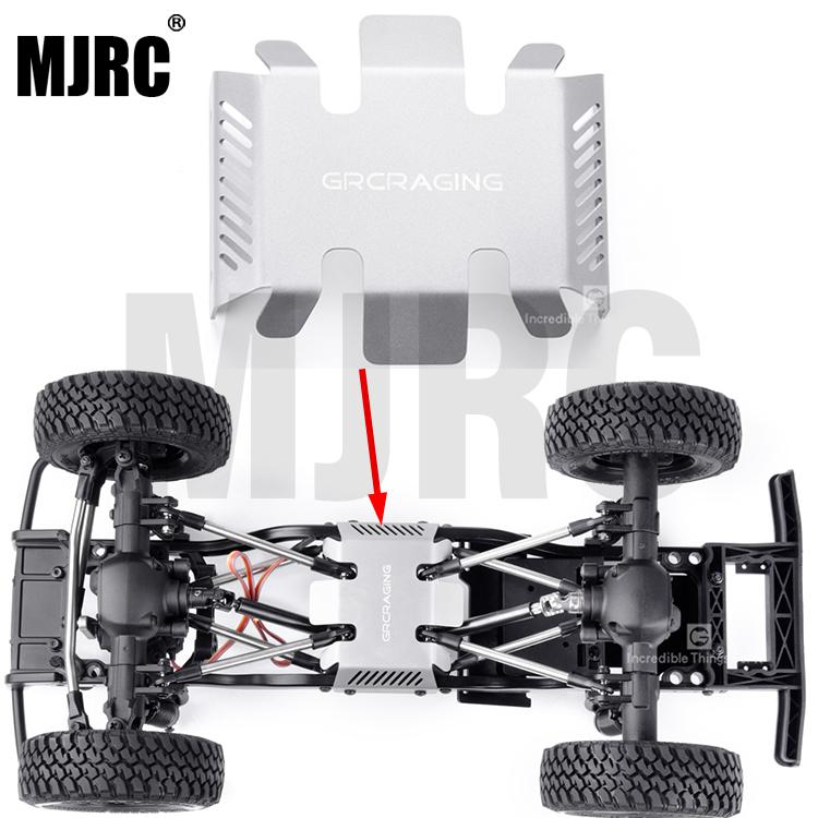 Stainless Steel Metal Armor Chassis Protection For RC Crawler Car MST CFX 242MM / 252MM / 267MM Wheelbase Chassis JIMNY 0131A