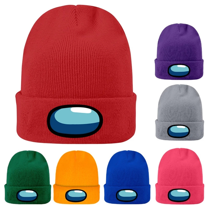 Knitted Hats Melon-Caps Warm Among Impostor Autumn Winter Short Couples Men's And Us-Game