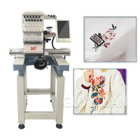 Automatic computer digital embroidery machine Small industrial multifunctional leather garment embroidery machine