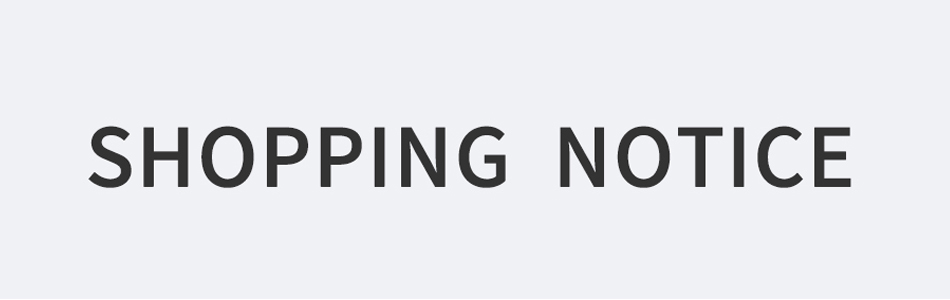 5 shopping notice