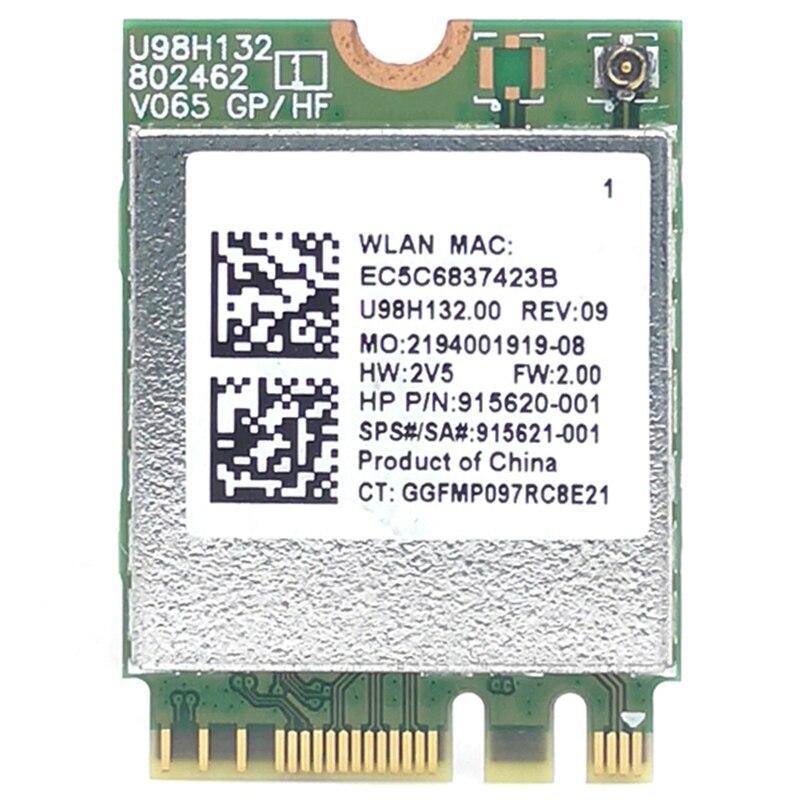 RTL8821CE 802.11AC 1X1 Wi-Fi + BT 4,2 комбо адаптер карта SPS 915621-001 беспроводная сетевая карта для Hp ProBook 450 G5 PB430G5 серии