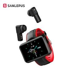 2021 NEW SANLEPUS Smart Watch Men Women Smartwatch With Wireless Headphones Bluetooth Headphones Earbuds Sport Fitness Bracelet