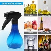 Olive Oil Sprayer for Cooking Olive Oil Sprayer Oil Mister for Air Fryer Oil Spray Bottle BPA Free 250Ml Blue