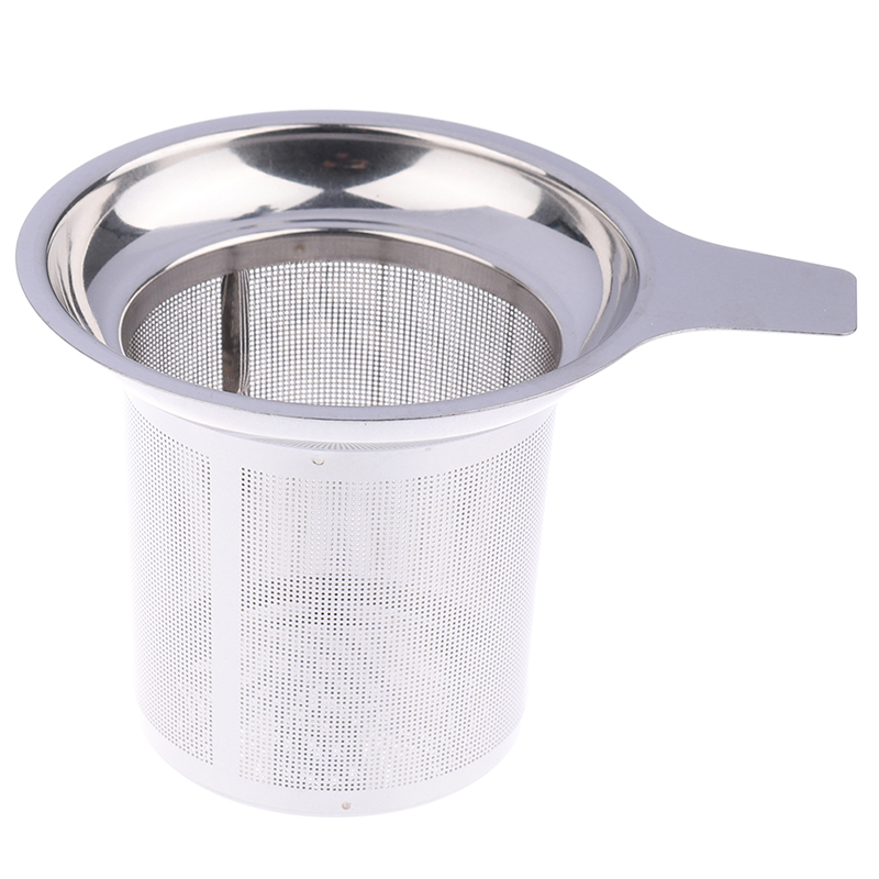 Reusable Stainless Steel Mesh Tea Infuser Tea Strainer Teapot Tea Leaf Spice Filter Drinkware Kitchen Accessories