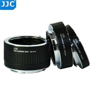 Image 1 - JJC 12mm 20mm 36mm AF מאקרו Tube הארכת טבעת מתאם עבור Canon EF EF S מצלמה 760D 750D 700D 650D 600D 550D 70D 7D 5D MarkIII