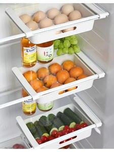 Organizer Shelf Rack Fridge-Storage Kitchen-Accessories