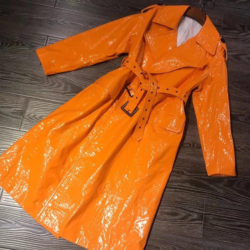 real sheepskin coat long ladies genuine leather coat women lambskin real coat Leather Jackets    - AliExpress