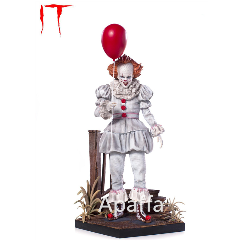 NECA Scarry Movie Stephen King's It Pennywise Joker Clown Action Figure Toys Cosplay Horror Street Freddy Dolls Halloween Day