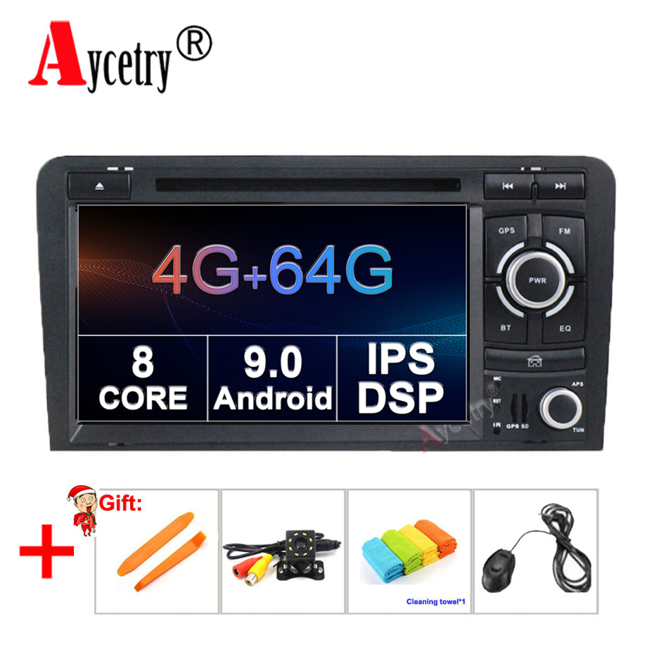8 CORE 4G 64G Android 9.0 2 Din CAR DVD GPS For Audi A3 8P S3 RS3 Sportback 2011 car multimedia player stereo radio wif obd2 dvr-in Car Multimedia Player from Automobiles & Motorcycles    1