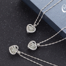 2019 New Fashion Power Women Heart Pendant Necklace Mother's Day Hollow Luminous Necklace Pendant For Mom Gifts  Wholesale
