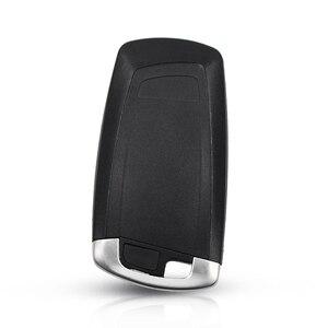 Image 5 - KEYYOU جديد وصول استبدال 3 أزرار مفتاح السيارة قذيفة لسيارات BMW 1 3 5 6 7 سلسلة X3 X4 مفتاح فوب حامي