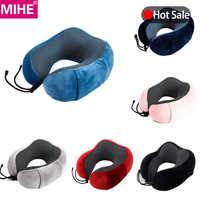 MIHE мягкая подушка для шеи в форме мультяшного героя, подушка для шеи с эффектом памяти, подушка для отдыха, подушка для самолета, автомобиля, ...