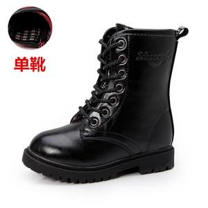 Image 4 - Winter 2019 Big Girls Fashion Boots Kids Boys Riding, Equestrian  Teenagers Children Shoe 4 5 6 7 8 9 10 11 12 13 14 15 16 Years