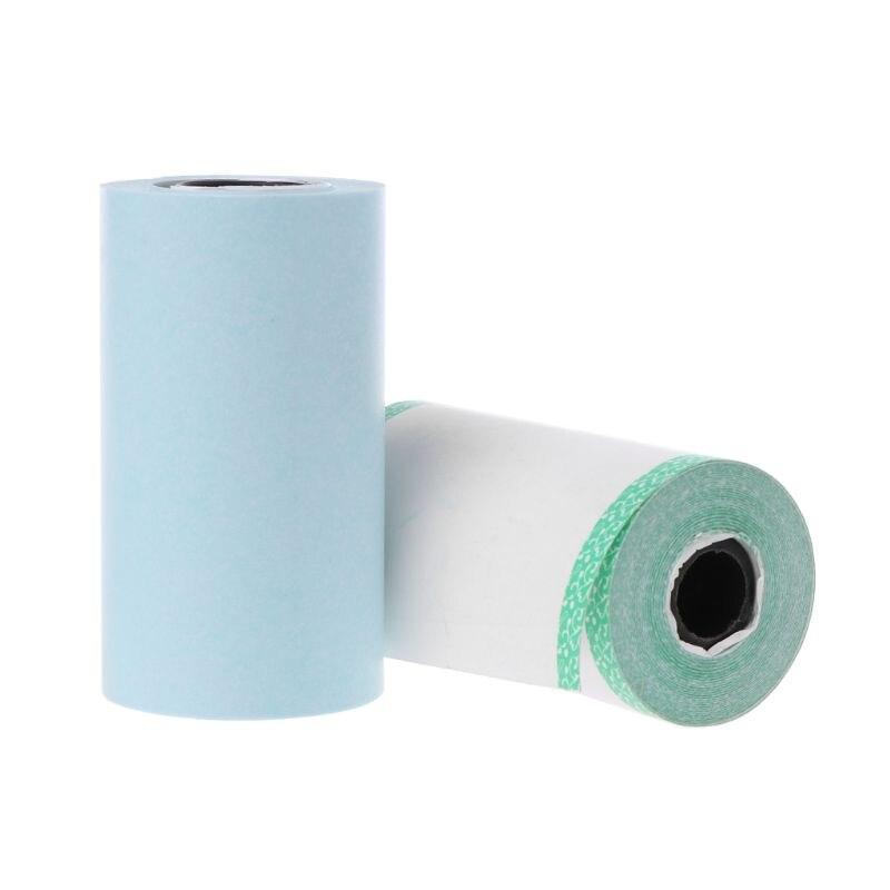 Фотобумага Мини Печать наклеек рулон термопринтеры прозрачная печать Smudge-Proof портативный
