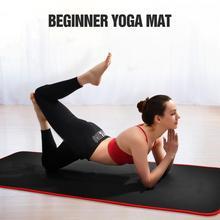 183 * 61 1см фитнес-коврик линии тела упругость универсальная йога аэробика дома прочный открытый нескользящей начинающих