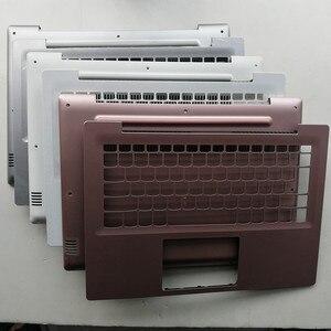 New laptop upper case base cover /bottom case cover for lenovo Ideapad 320S-14IKB 1SK 1KB plastic material