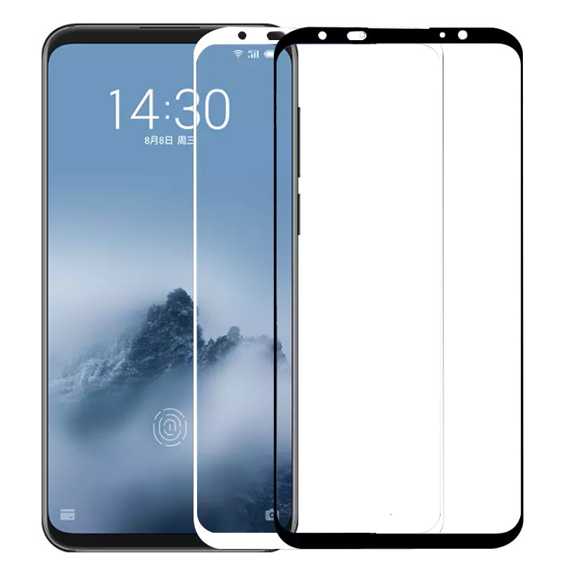 Tempered Glass For <font><b>Meizu</b></font> 16 <font><b>16th</b></font> Plus 15 Lite M15 16x X8 V8 Pro M8 Note 8 Case Screen Protector On Maisie 16 X V M 8 Not Film 9h image