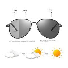 Фотохромные солнцезащитные очки 2020 мужские поляризованные