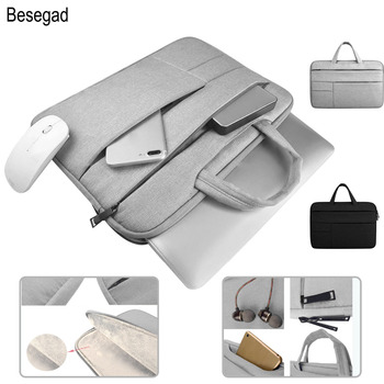 Besegad Portective Laptop Carrying Storage Laptop Bag Sleeve Handbag Case Cover Pouch for MacBook Air Pro Xiaomi 13 13.3 15 inch