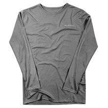 Summer Mens Clothing 2019 Long Sleeve T-Shirt Jogger Cotton Top streetwear Fashion Fitness