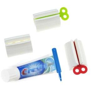 Image 3 - רב פונקציה משחת שיניים לסחוט פנים ניקוי לסחוט ידני משחת שיניים קליפ ניקוי אספקת משחת שיניים לוויה מסחטה