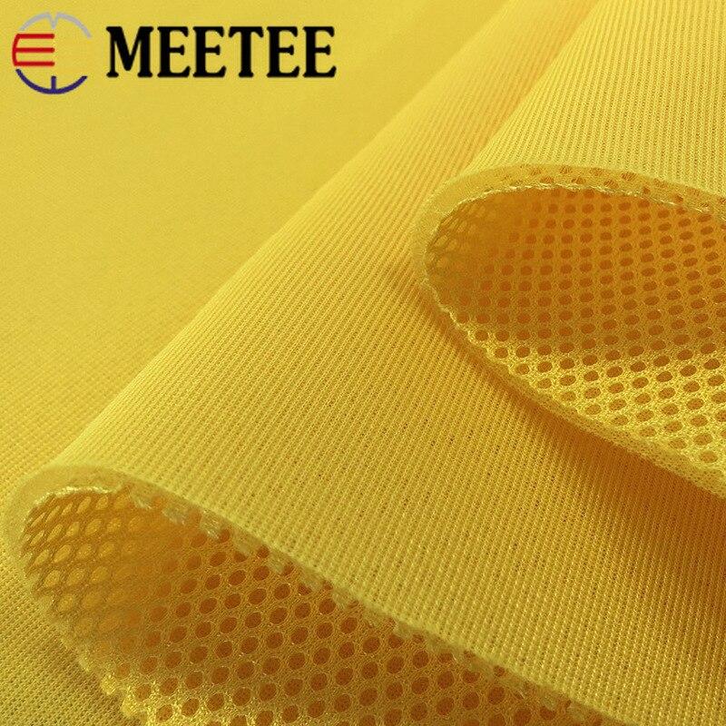 Meetee 100*150 см 3D утолщенная 3-слойная сэндвич-сетчатая ткань для чехла на сиденья дышащая Спортивная обувь сумки диван тканевый материал