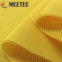 Meetee 100*150cm tessuto a rete Sandwich a 3 strati ispessito 3D per coprisedili scarpe sportive traspiranti borse materiale del panno del divano