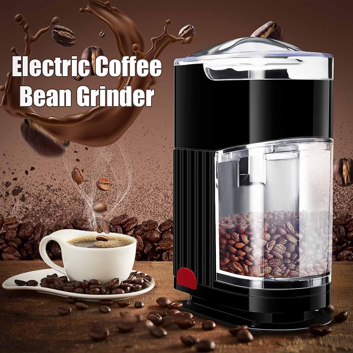 Elektrische Kaffeemühle Multifunktionale Büro Haushalt Elektrische Kaffeemühle Bean Spice Maker Schleifen Maschine EU/Us-stecker