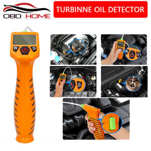 OBD2 Engine Oil Tester for Auto Check Oil Quality Detector with LED Display Gas Analyzer Car Testing Tools With optical probe