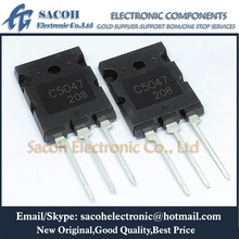 شحن مجاني 5 قطعة 2SC5047 C5047 أو 2SC5453 أو 2SC5244 TO 264 25A 1600 فولت NPN ترانزستور السيليكون المستو الثلاثي المنتشر