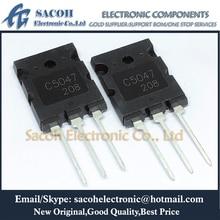 Free Shipping 5Pcs 2SC5047 C5047 or 2SC5453 or 2SC5244 TO 264 25A 1600V NPN Triple Diffused Planar Silicon Transistor