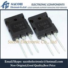 Livraison gratuite 5 pièces 2SC5047 C5047 ou 2SC5453 ou 2SC5244 TO 264 25A 1600V NPN Transistor de silicium planaire Triple diffusion