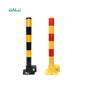 Parking lock Pillar with spring and lock/ Car barrier lock Private territory maintenance Protect parking