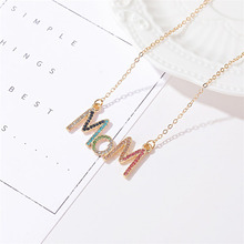 Mother's Day Special Gift: Color Crystal Necklace
