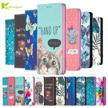 עור מקרה עבור Xiaomi Redmi 9 T מקרה עבור Xiomi Redmi 9 T 9 T M2010J19SG Fundas 3D ארנק Stand ספר Flip כיסוי חתול צבוע Coque