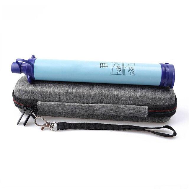 EVA sac de protection mallette de rangement couverture pour LifeStraw personnel filtre à eau sac accessoires Bushcraft EDC équipement de survie