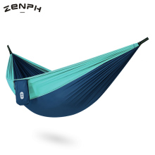 Zenph Camping Hammock 210T Nylon 300kg Lightweight Load-bearing Anti-rollover Outdoor Travel Double