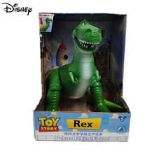 Disney Toy Story Rex – figurine de dinosaure vert en Pvc de 34cm, Mini poupées d'action, modèle de jouets pour enfants, cadeau