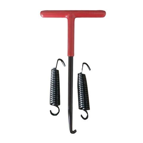 primavera gancho extrator tool com giro de escape escape molas 60mm t lidar com bicicleta