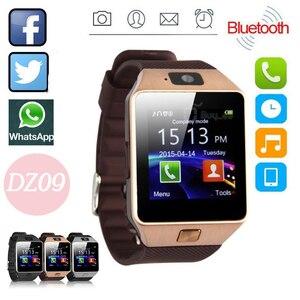 DZ09 Bluetooth Смарт часы телефон + камера SIM карта Спорт на открытом воздухе браслет модные часы (для Android IOS телефонов) горячая распродажа