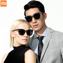 XIAOMI Mijia TS Sunglasses Cat-eye Version Nylon Polarized Glasses 100% UV-Proof Light Men Women Outdoor Eyewear Accessories original xiaomi mijia turok steinhardt ts nylon polarized stainless sunglasses colorful retro 100% uv proof for travel man woman