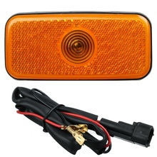 Newest side marker light lamp jumbo shell Side lights shell with wiring harness for Ford transit MK6 MK7 2000 2013 1671689
