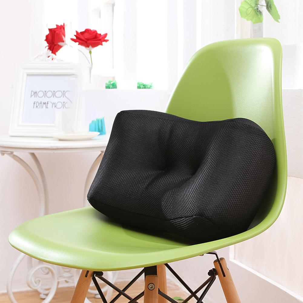 Lumbar Support Pillow Breathable Mesh Ergonomic Designed For Low Back Pain Relief Back Cushion Backrest For Office Chair Sofa