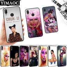 Rap singer Nicki Minaj Silicone Soft Case for Huawei P8 P9 P10 P20 P30 Lite Pro P Smart Z Plus