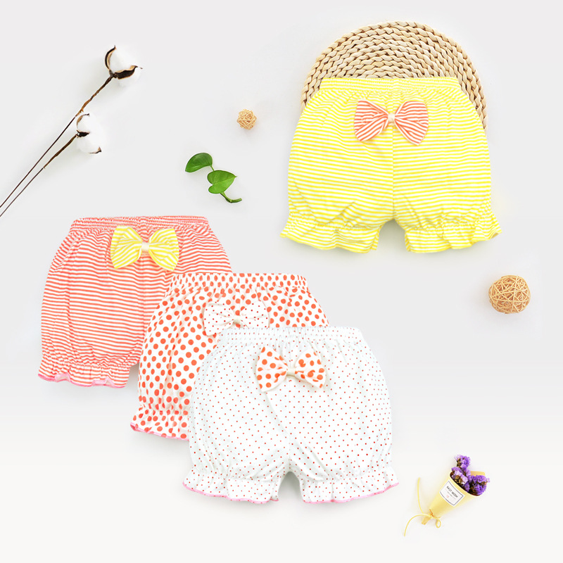 Baby Girls Underwear Cotton Lace Underpants Toddler Bread Pants PP Bottom Shorts Clothes Infant Cotton Cozy Kids Underwear Gift