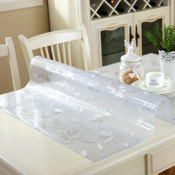 Waterproof PVC Tablecloth Table cloth Transparent Table Cover Mat Kitchen Pattern Oil cloth Glass Soft Cloth Tablecloth 1.0mm цена 2017