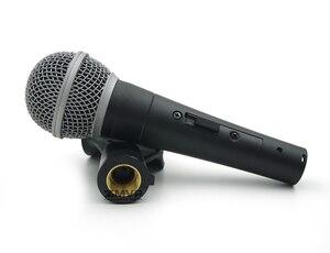 Image 3 - Nieuwe Pakket! Top Kwaliteit SM58S Professionele Bedrade Microfoon SM58SK Mic Met Real Transformator Schakelaar Voor Prestaties Live Zang