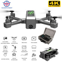Drone 4k HD wide-angle camera 1080p WIFI FPV height can keep sailing for 20 minutes VR mode Quadcopter H5 drone VS E520S drone(China)