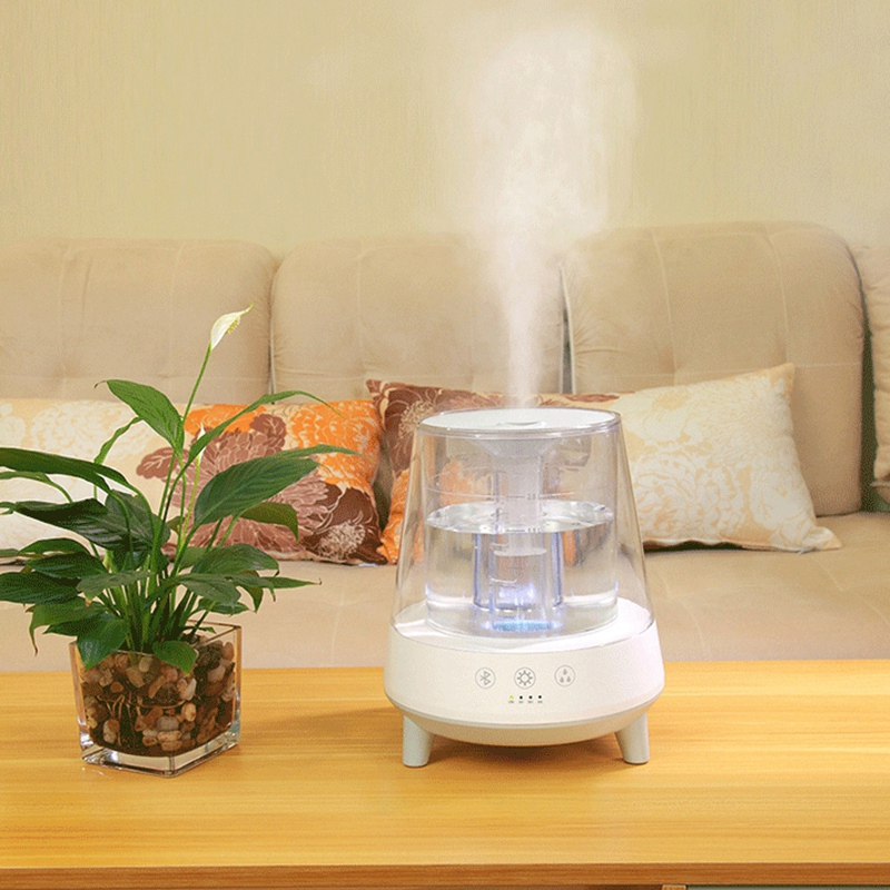 2L Large Capacity AirHumidifier Home Mini Ultrasonic Humidifier Aroma Diffuser Mist Maker Air Purifier Humidificador EU Plug|Air Purifiers| |  - title=