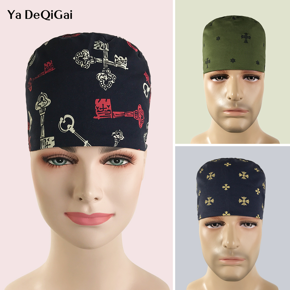 Unisex Quality Surgeon Surgical Hat Care Physician Cap Dental Clinic Nurse Cap Pet Beauty Hospital Beauty Physician Medical Caps